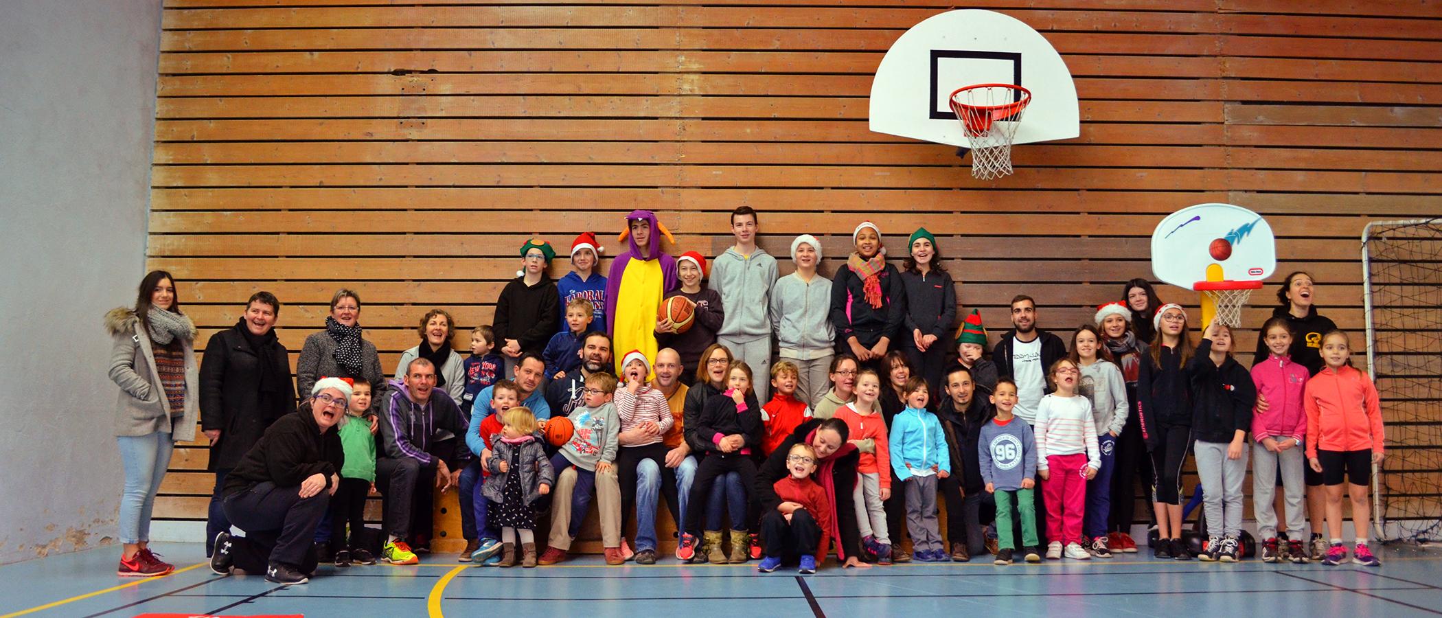 Le Père Noël a gâté l'AOC Basket